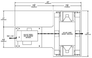 WILCO model 310 product diagram